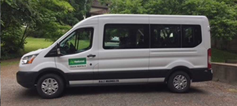 Touring Van at Miracle Mile Limousine Service and Sight-Seeing Tours of Nanaimo, BC
